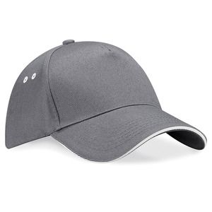 Beechfield BC15C - Ultimate 5 panel contrast cap sandwich peak