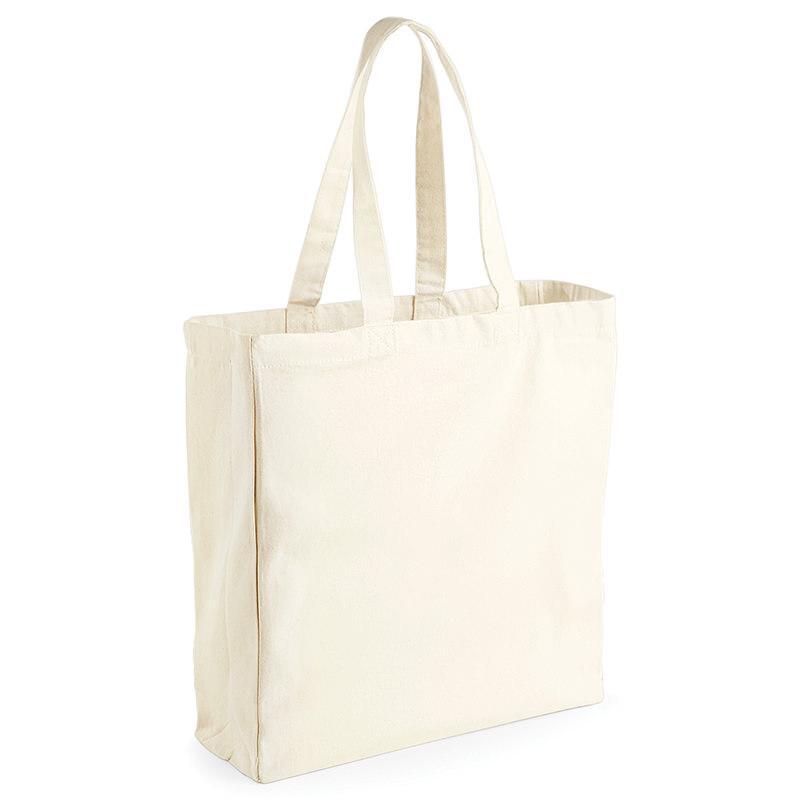 Westford Mill WM108 - Canvas classic shopper