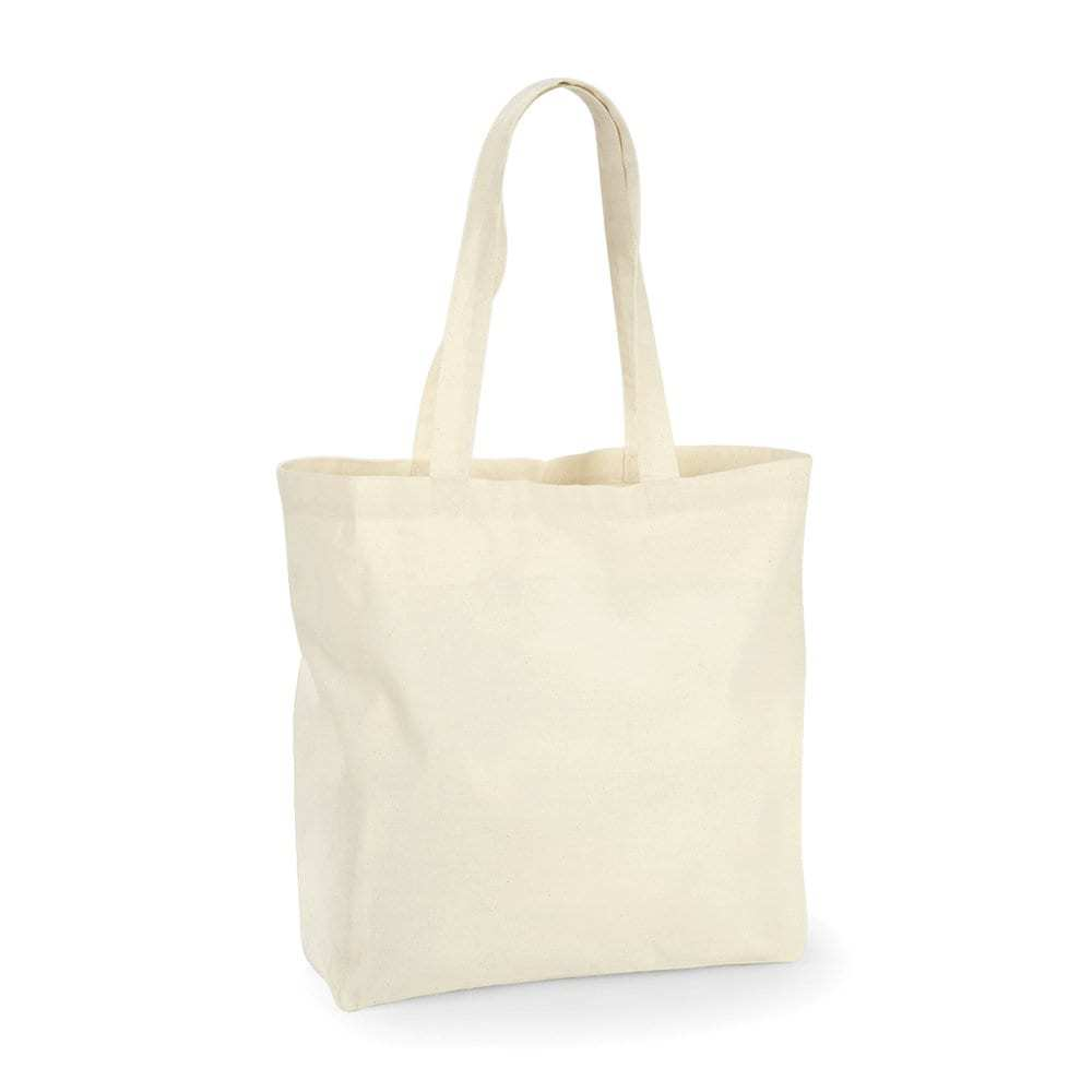 Westford mill WM125 -  Grand Tote Bag 100% coton