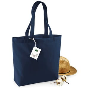 Westford mill WM180 - Borsa shopper in cotone organico