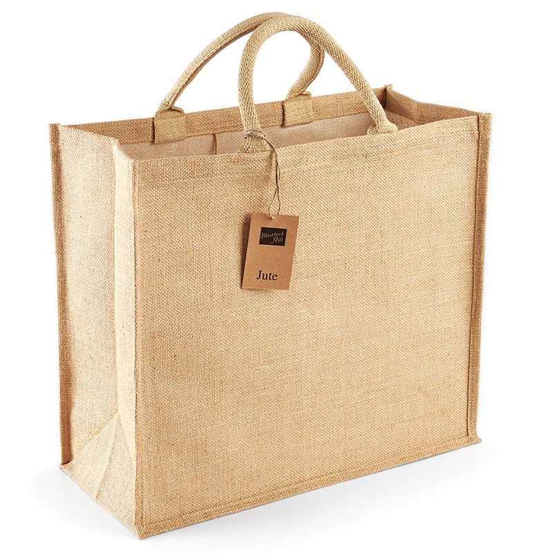 Westford Mill WM408 - Jute jumbo shopper
