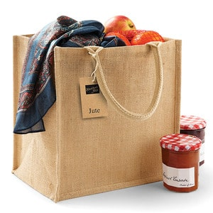 Westford mill WM413 - Canvas Jute-Tasche