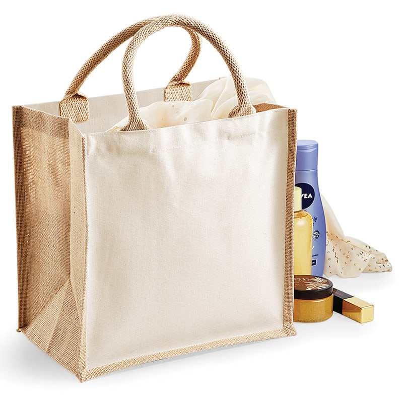 Westford Mill WM421 - Printers' midi jute bag