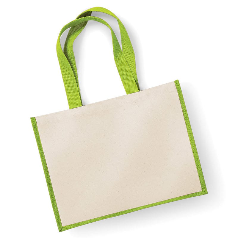 Westford Mill WM422 - Printers jute classic shopper