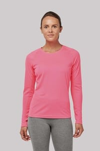 ProAct PA444 - LADIES LONG SLEEVE SPORTS T-SHIRT