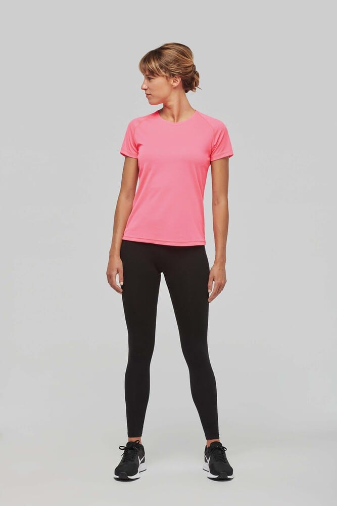 ProAct PA439 - T-SHIRT SPORT MANCHES COURTES FEMME