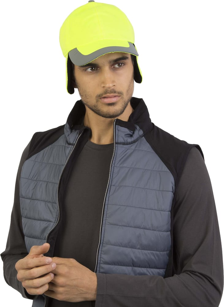 K-up KP122 - FLUORESCENT WINTER CAP - 6 PANELS