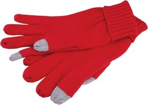 K-up KP407 - TOUCHSCREEN KNITTED GLOVES