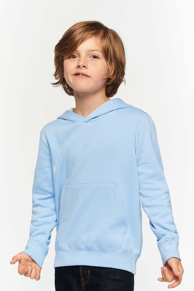 Kariban K453 - KIDS' CONTRAST HOODED SWEATSHIRT