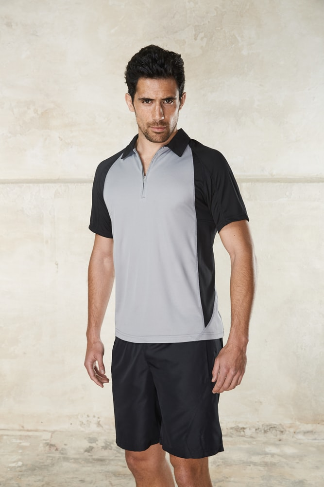 ProAct PA487 - MEN'S BICOLOUR SHORT SLEEVE POLO-SHIRT