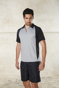 ProAct PA487 - MENS BICOLOUR SHORT SLEEVE POLO-SHIRT