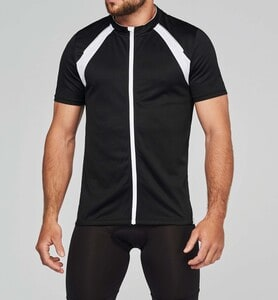 ProAct PA447 - MAILLOT CYCLISTE MANCHES COURTES