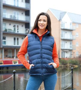 Result R193F - Womens Ice Bird Quilted Bodywarmer