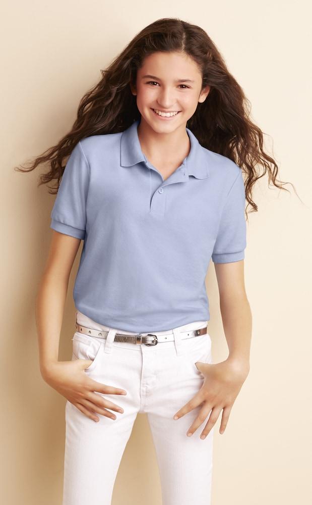 Gildan 72800B - Youth Driblend Double Pique Sport Shirt