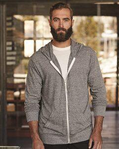 Alternative 1970e1 - Unisex Eco-Jersey Hooded Full-Zip T-Shirt