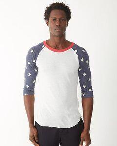 Alternative 2089ea - Printed Eco-Jersey Baseball T-Shirt