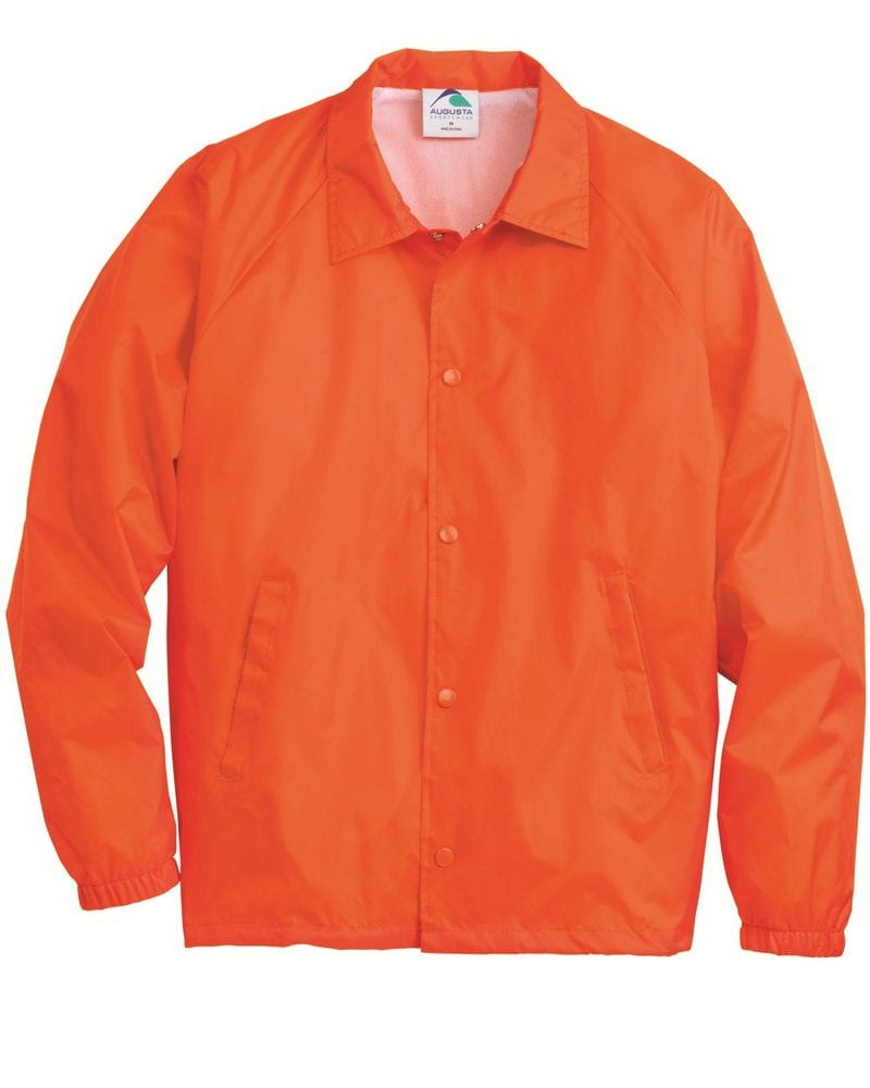 Augusta Sportswear 3100 - Chaqueta de entrenador de nylon / forrada