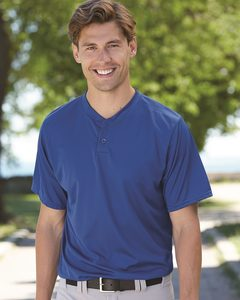 Augusta Sportswear 426 - Performance Two-Button Henley