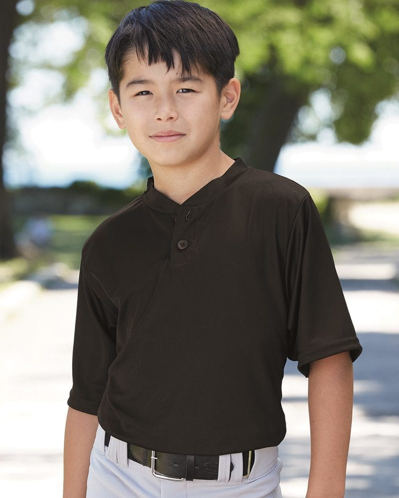 Augusta Sportswear 427 - Youth Performance Two-Button Henley