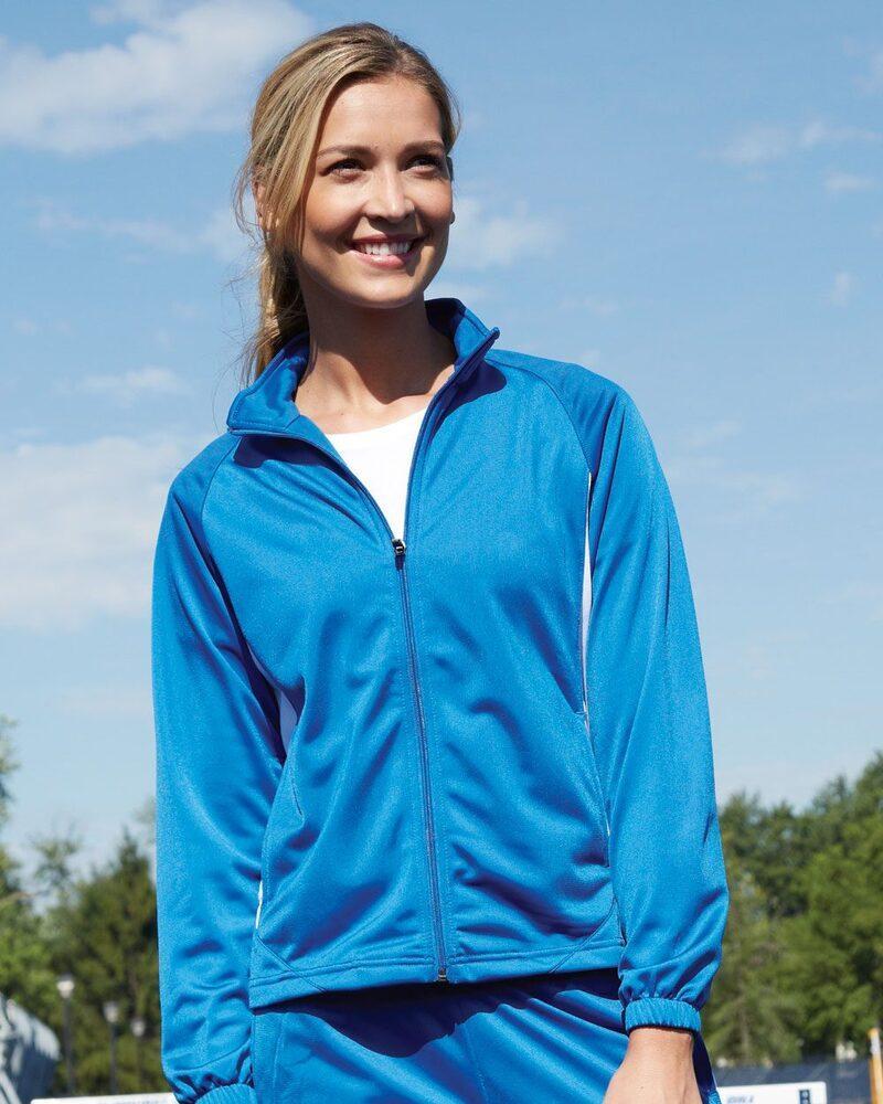 Augusta Sportswear 4392 - Ladies' Brushed Tricot Medalist Jacket