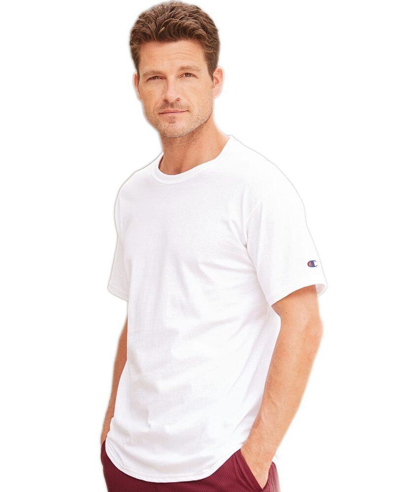 Champion T425 - T-shirt à manches courtes sans étiquette