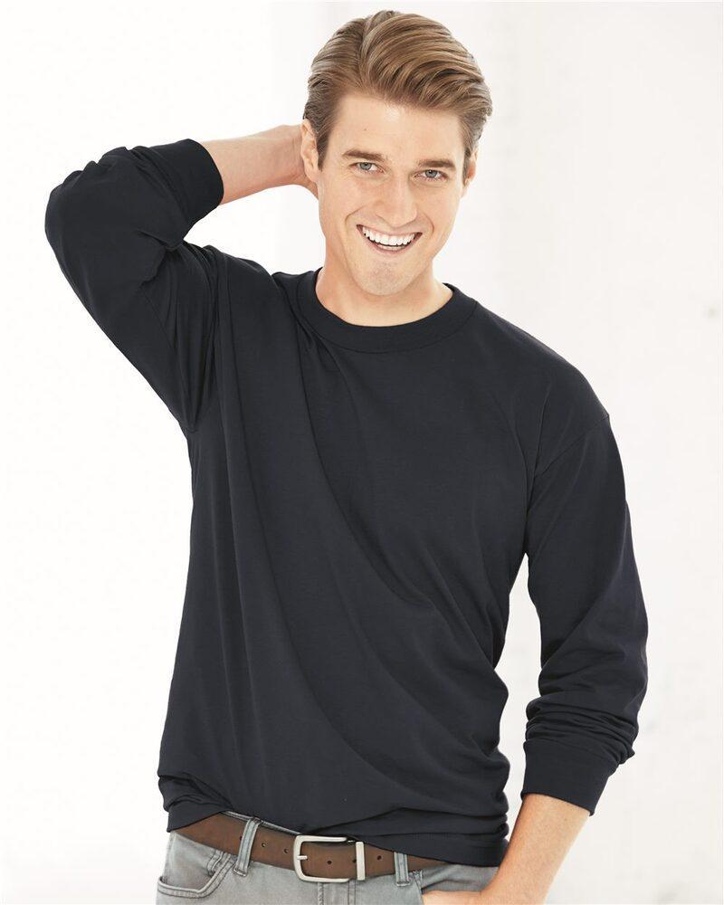 Bayside 2955 - Union-Made Long Sleeve T-Shirt
