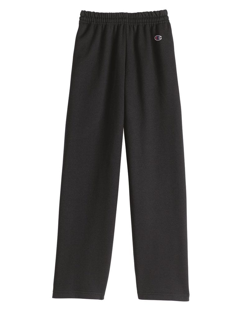 Champion P890 - Eco Youth Open Bottom Sweatpants with Pockets