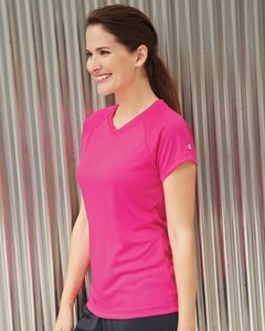 Champion CW23 - Ladies Double Dry® V-Neck Performance T-Shirt