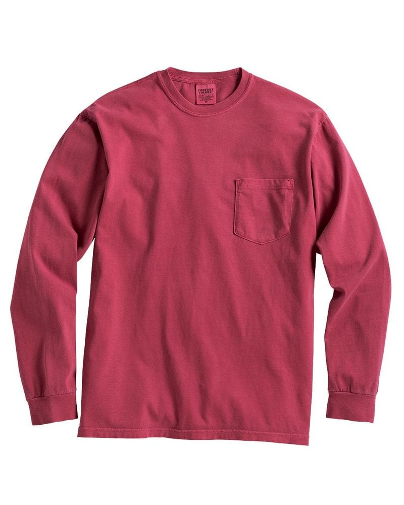 Comfort Colors 4410 - Long Sleeve Pocket T-Shirt
