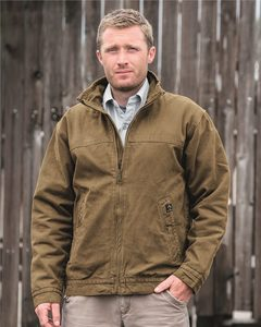 DRI DUCK 5028 - Maverick Boulder Cloth Jacket with Blanket Lining