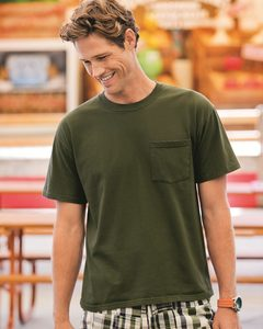Fruit of the Loom 3930PR - Heavy Cotton HD™ T-Shirt with a Left Chest Pocket