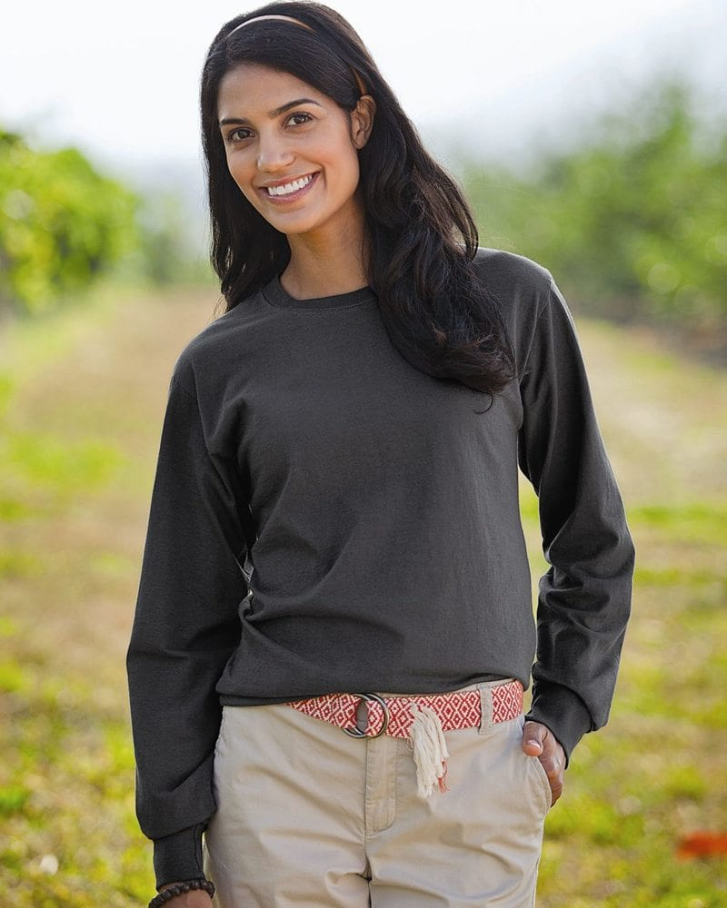 Fruit of the Loom 4930R - Heavy Cotton Long Sleeve T-Shirt