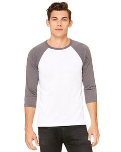 Bella+Canvas 3200 - Unisex Three-Quarter Sleeve Baseball Raglan