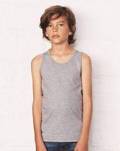 Bella+Canvas 3480Y - Musculosa jersey para jóvenes