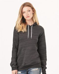 Bella+Canvas 3719 - Unisex Poly/Cotton Hooded Pullover Sweatshirt