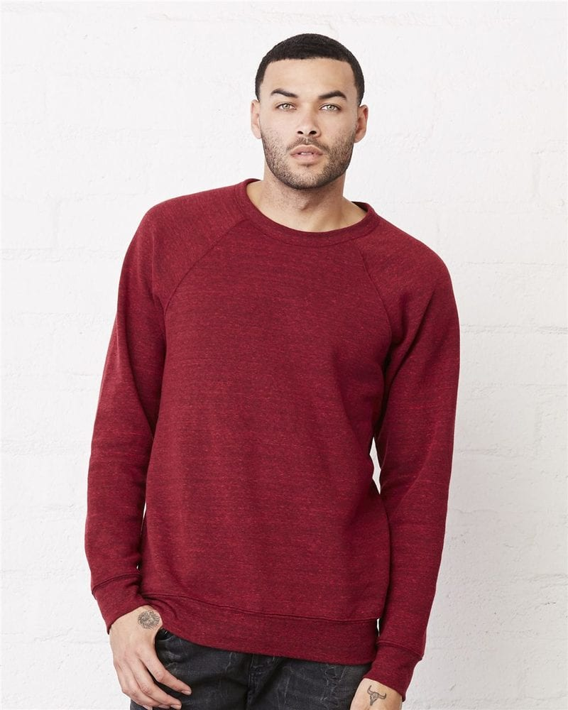 Bella+Canvas 3901 - Unisex Sponge Fleece Crewneck Sweatshirt