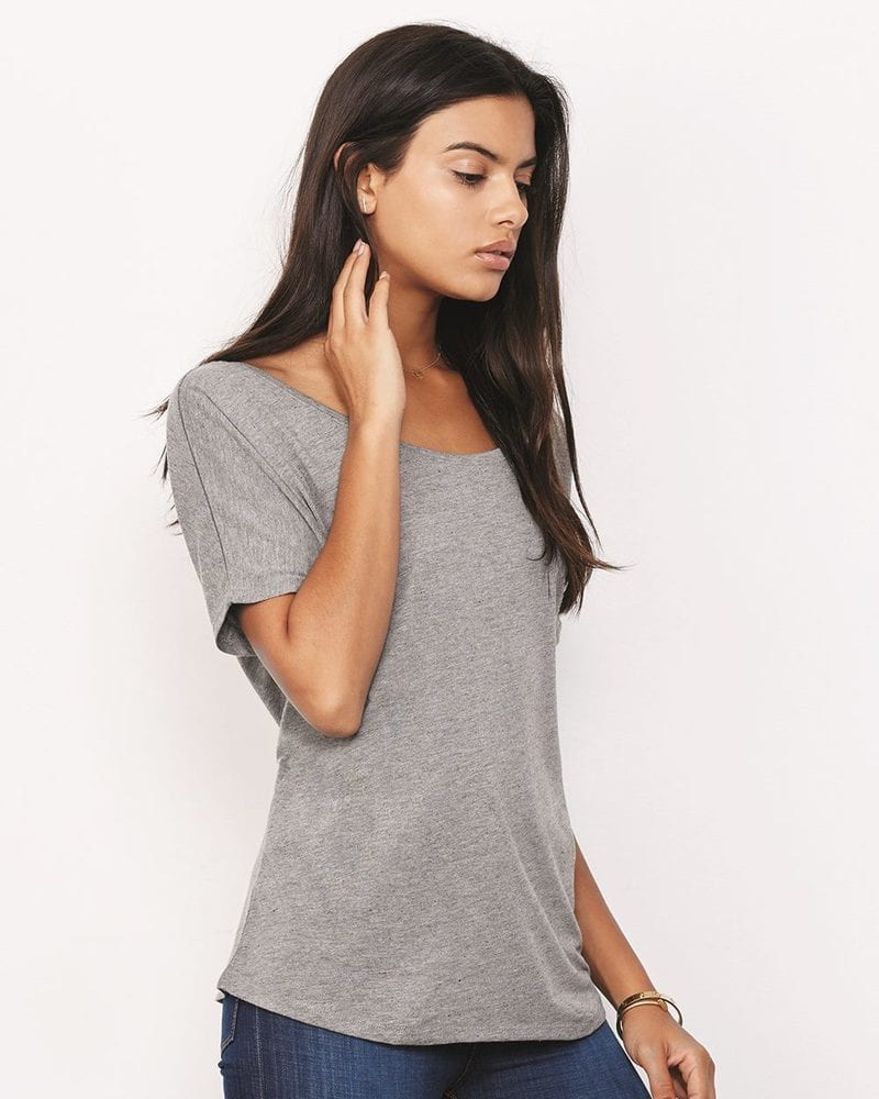 Bella+Canvas 8816 - Remera suelta simple para mujer