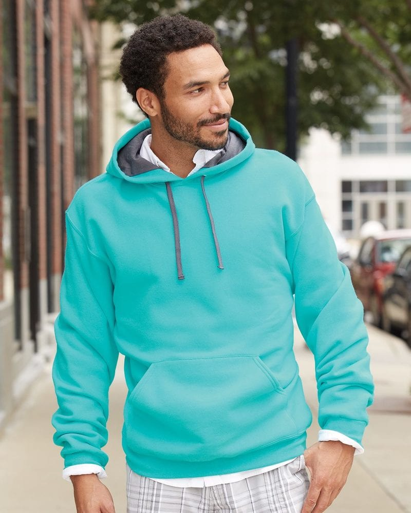 Fruit of the Loom SF76R - SofSpun Hooded Pullover Sweatshirt