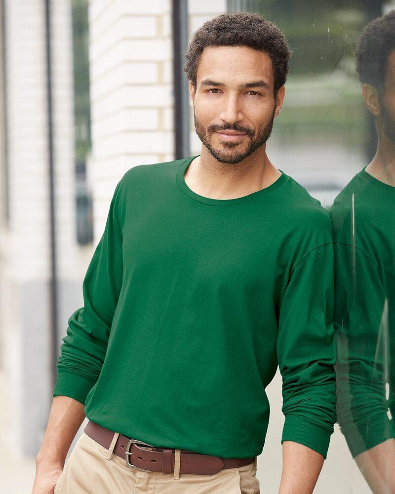 Fruit of the Loom SFLR - SofSpun Jersey Long Sleeve T-Shirt
