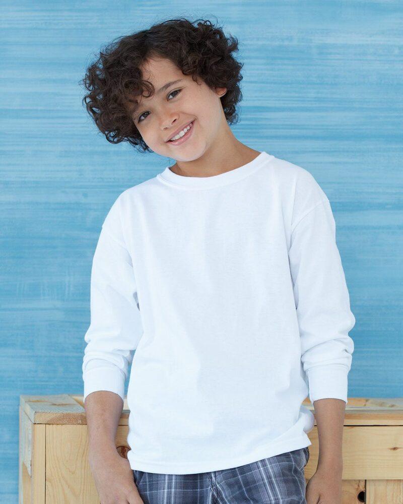 Gildan 2400B - Ultra Cotton™ Youth Long Sleeve T-Shirt
