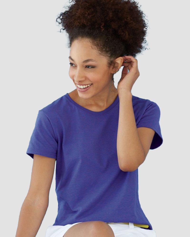 Gildan 5000L - Ladies' Heavy Cotton Short Sleeve T-Shirt