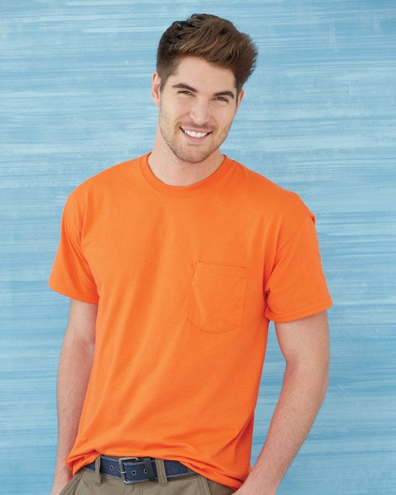 Gildan 8300 - DryBlend™ 50/50 T-Shirt with a Pocket