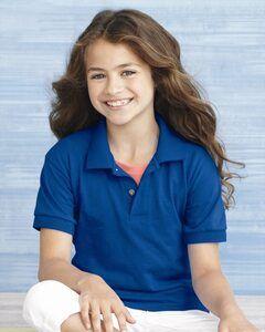 Gildan 8800B - Venta al por mayor de remera deportiva Polo DryBlend Jersey para niños
