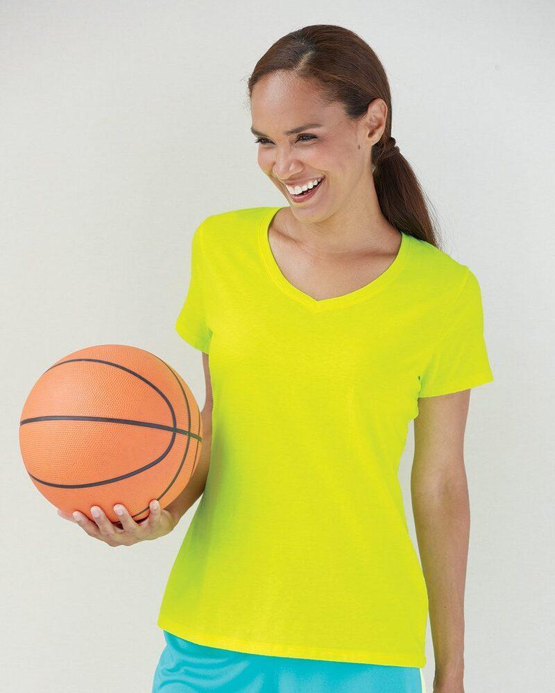 Hanes 42V0 - Ladies' X-Temp T-Shirt