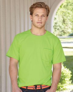 Hanes 5190 - Beefy-T® with a Pocket