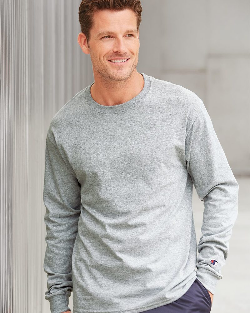 Champion CC8C - Long Sleeve Tagless T-Shirt