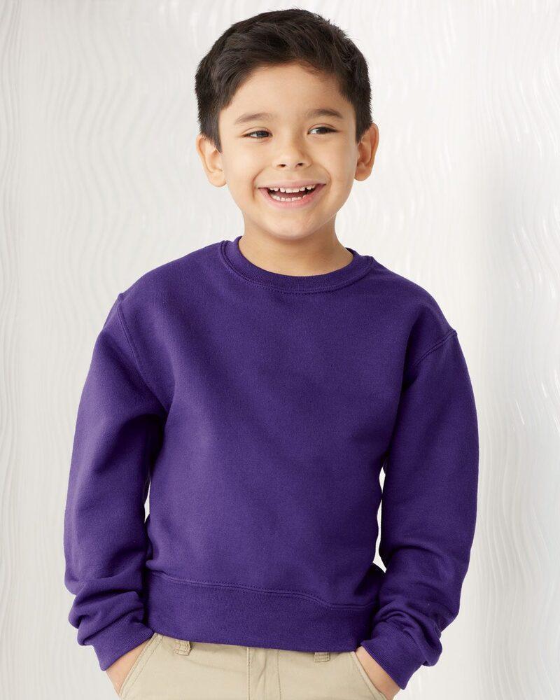 JERZEES 562BR - NuBlend® Youth Crewneck Sweatshirt