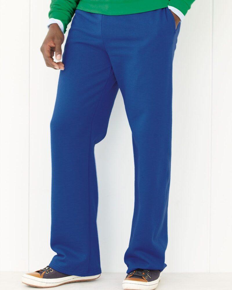 JERZEES 974MPR - NuBlend® Open Bottom Pocketed Sweatpants