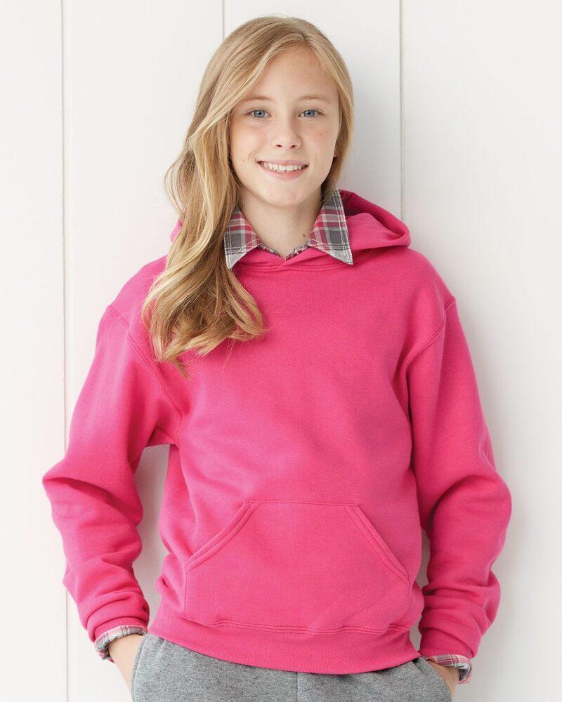 JERZEES 996YR - NuBlend® Youth Hooded Sweatshirt