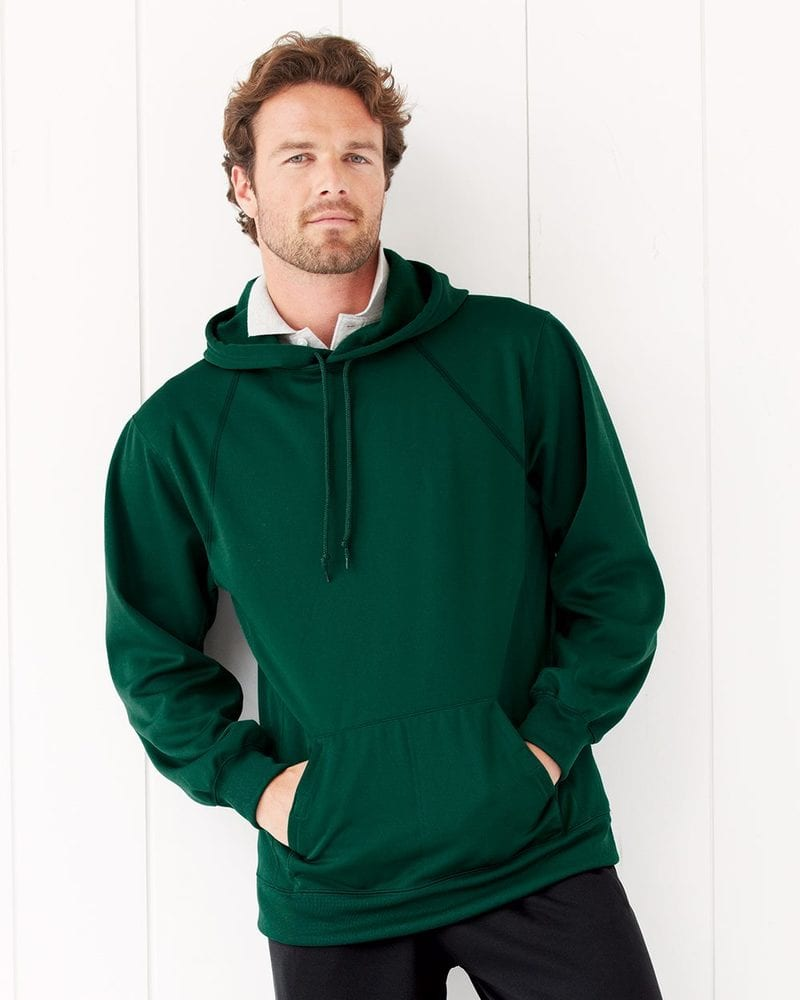JERZEES PF96MR - 100% Polyester Fleece Hooded Pullover